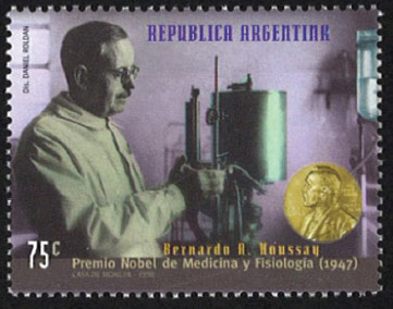 Figura 1. Estampilla conmemorativa del Nobel de