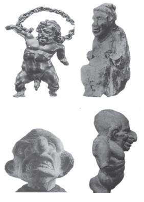 Figura 9. Figuras de la cultura helenística.