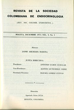 Ver Vol. -10 Núm. 1 (1974): I Fase. Revista ACE Vol.-10 No.1
